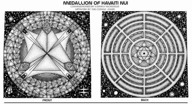 Medallion of Havaiti Nui. blog.